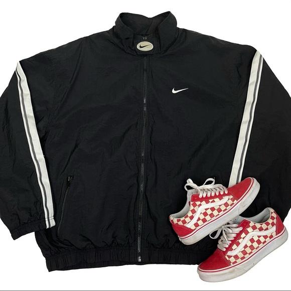 Rare Vintage Nike Full Zip Windbreaker Jacket